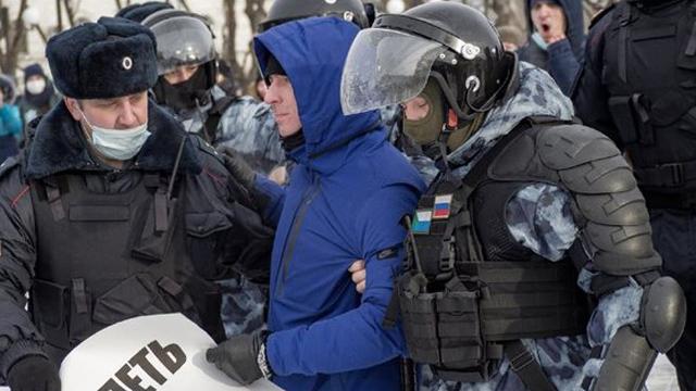 мітинги в росії