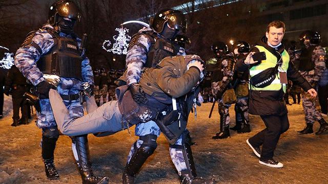 Демонстрація непокори: реакція іноземних ЗМІ на протести у Росії