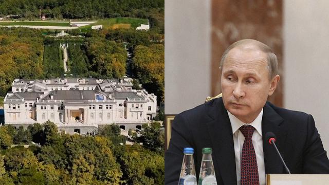 Нудно, дівчатка: Путін вперше прокоментував палац з розслідування Навального