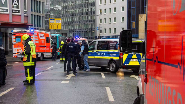 Нападение во Франкфурте