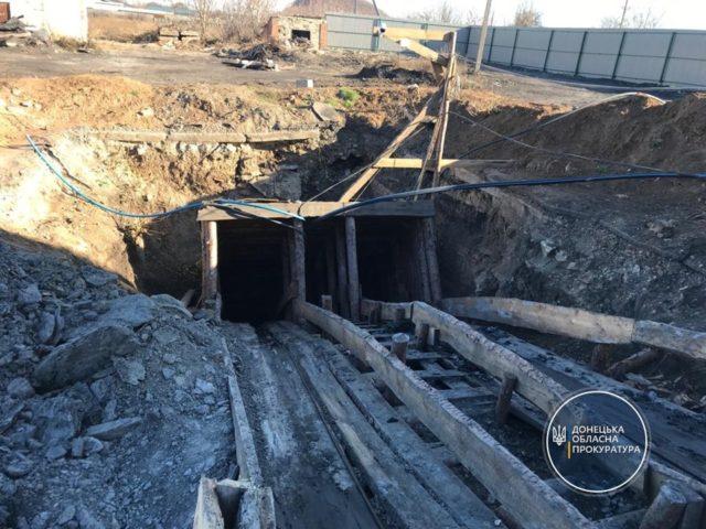 На Донеччині двоє чоловіків незаконно добули вугілля на понад 2 млн грн