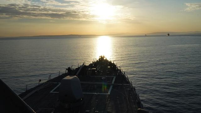 Есмінець ВМС США увійшов в Чорне море