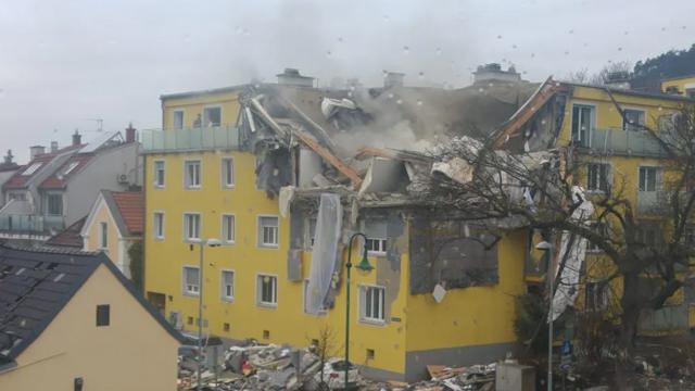 Вибух у житловому будинку в Австрії