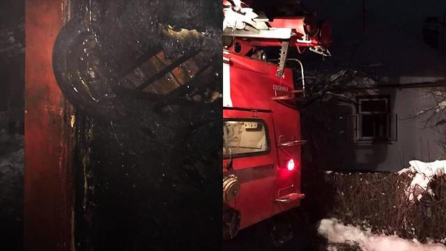 Вогонь вибивався з вікон: на Львівщині в пожежі загинув чоловік