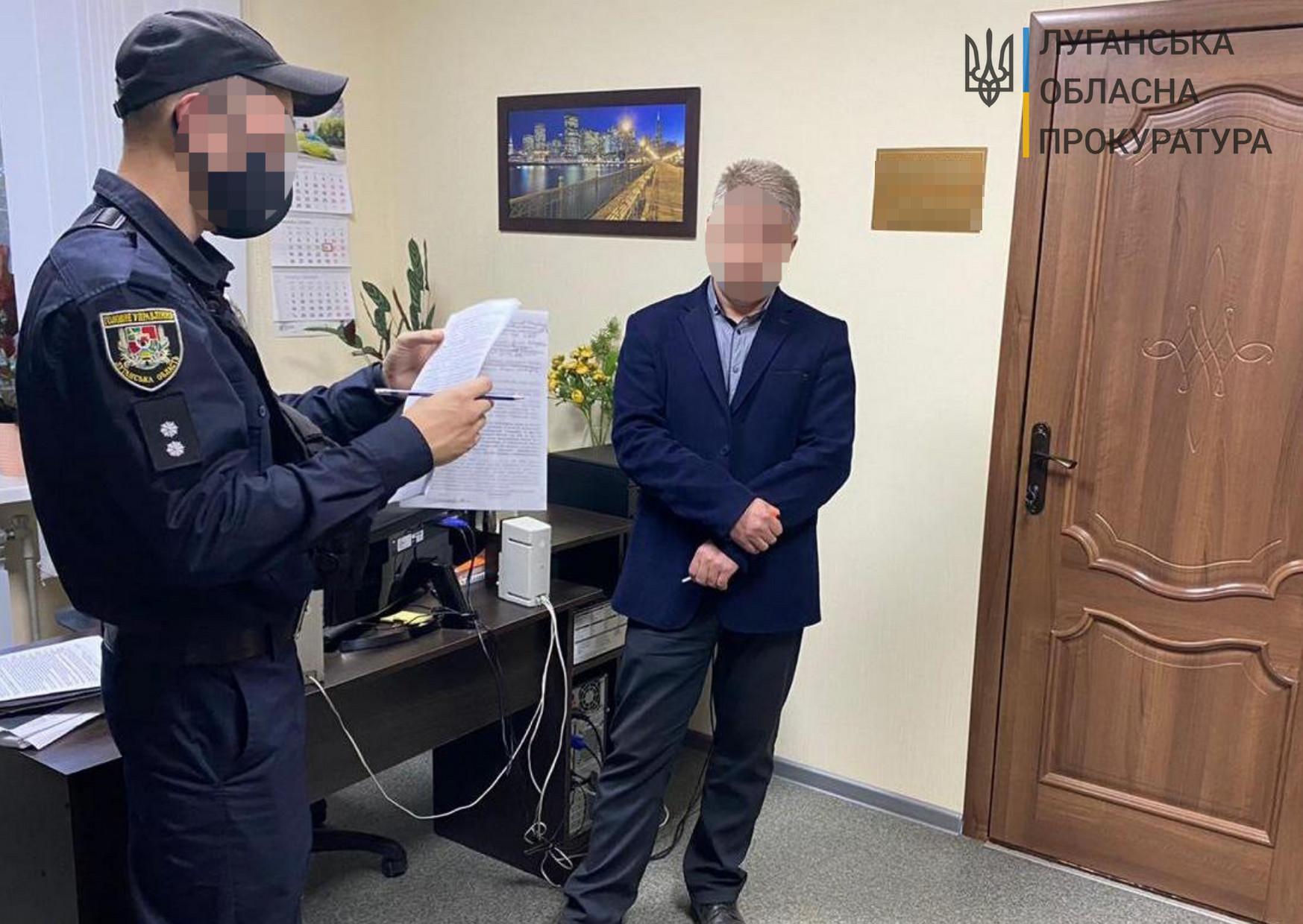 На Луганщині судитимуть екс-мера та його заступника за відкат договорів про ремонт тротуарів