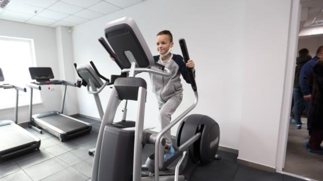 У Тернополі відкрили спорткомплекс Workout Hall