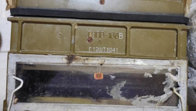 Білорус віз у днищі багажника прилади до танка