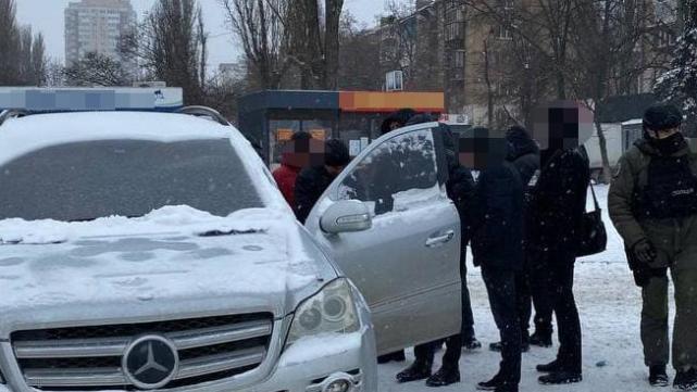у Києві затримали банду вимагачів