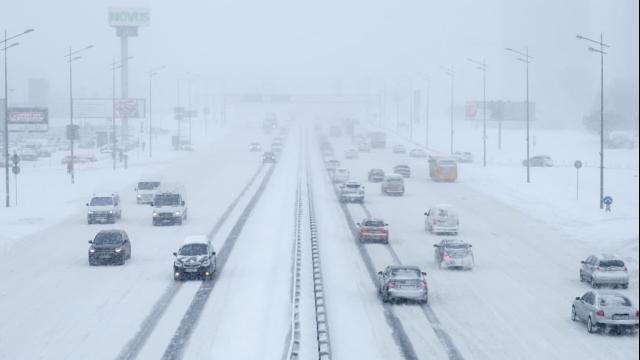 Снігопади у Києві