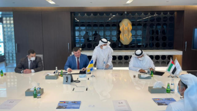 Укроборонпром підписав в ОАЕ угоди на $1 млрд