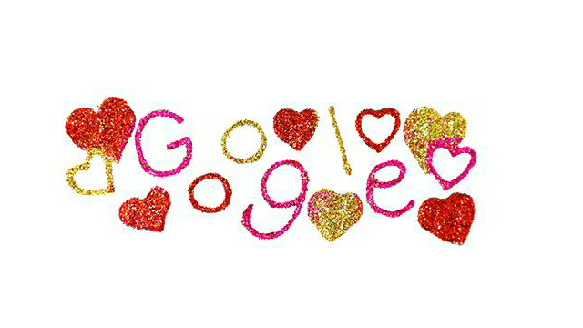 Google створив святковий дудл до Дня святого Валентина