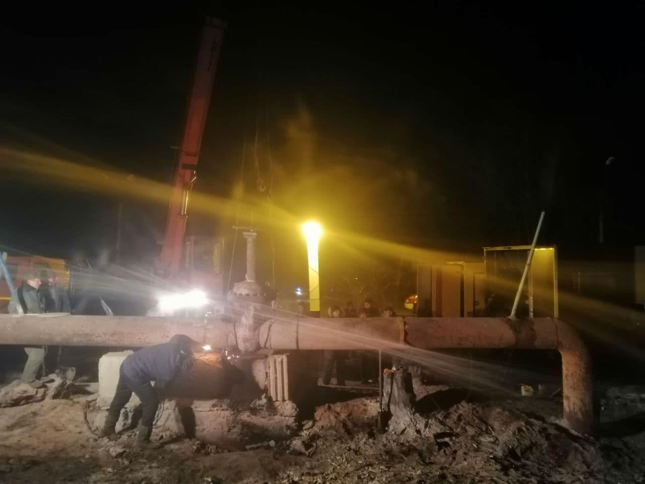 Потужний вибух у Луганську: горів газопровід