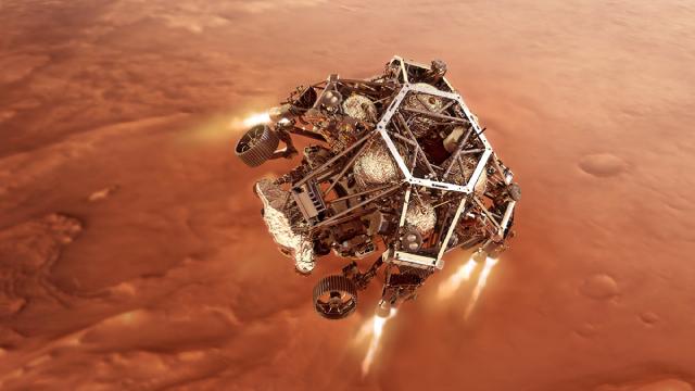 NASA-марс