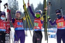 Третя бронза поспіль: українські біатлоністки вибороли медаль чемпіонату світу