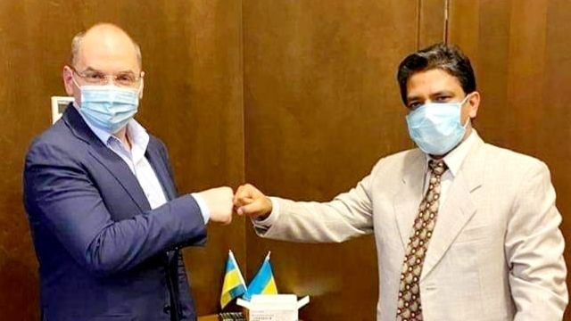 Степанов домовився про постачання 500 тис. доз Covid-вакцини з Індії