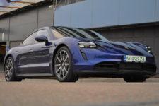 Тест-драйв Porsche Taycan: выживание и реалии в Украине