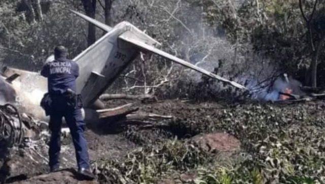 авиакатастрофа в Мексике