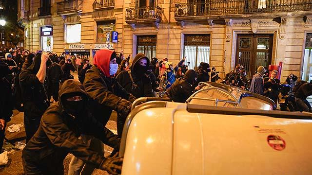 протести в Іспанії