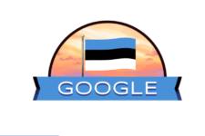 День независимости Эстонии: Google создал новый дудл