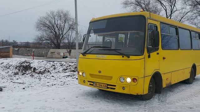 Росія не відкрила КПВВ Щастя та Золоте для українських автобусів