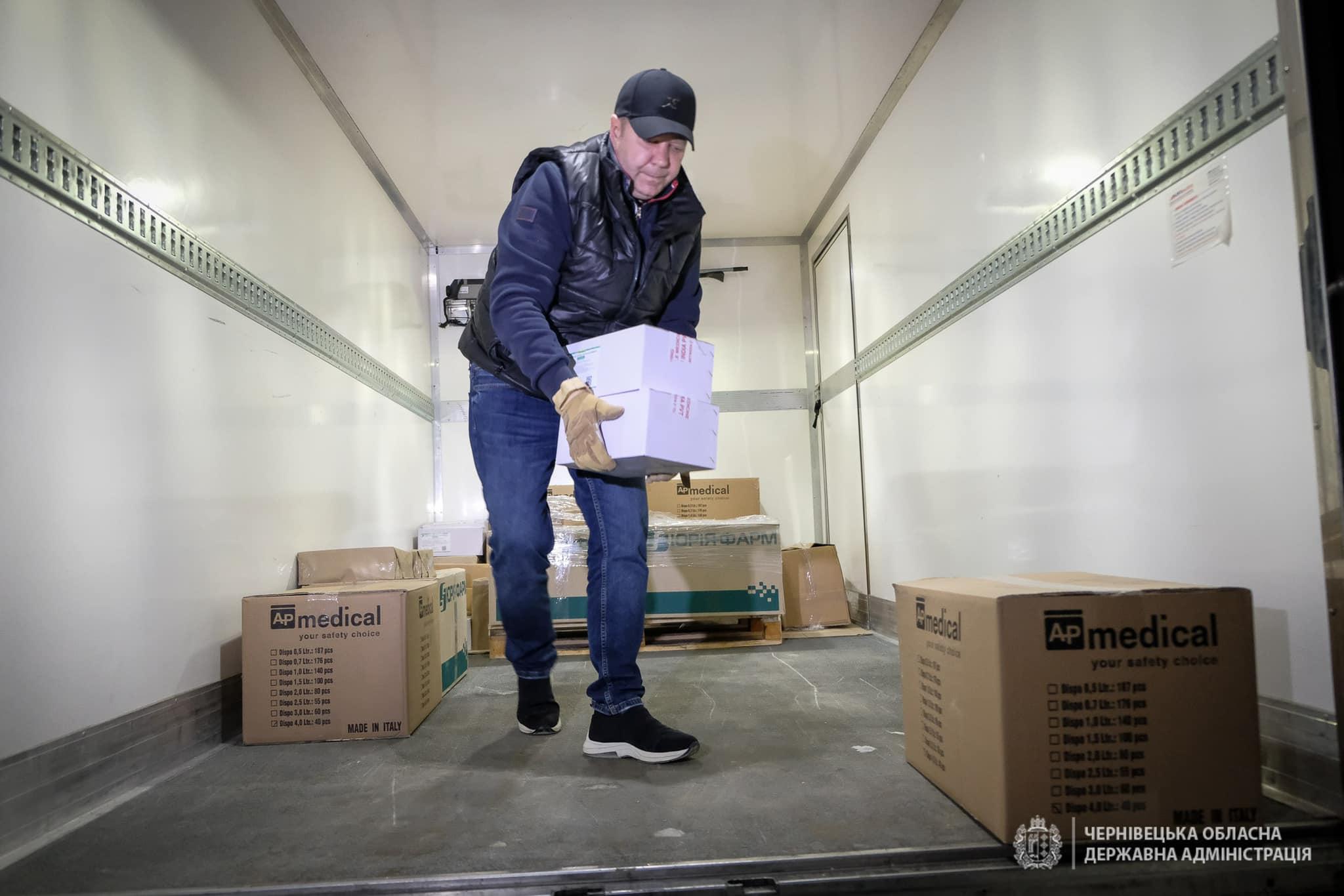 Буковина отримала понад 15 тис. доз Covid-вакцини: вже зробили перше щеплення