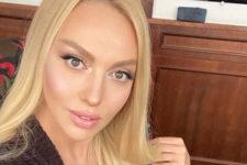 Заради українських шоу: Оля Полякова показала, як вивчає державну мову