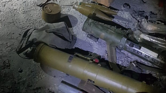 На Луганщині СБУ виявили схованку бойовиків