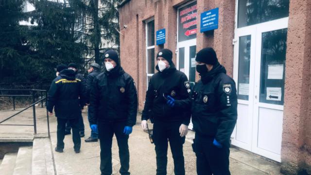 Пожежа в лікарні Чернівців