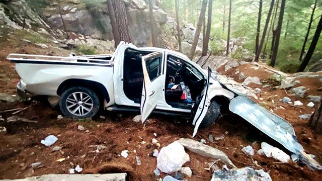 У Туреччині пікап із туристами впав у прірву – дві українки у важкому стані