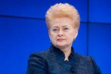 Справжній друг України: Зеленський привітав Далю Грибаускайте з днем народження