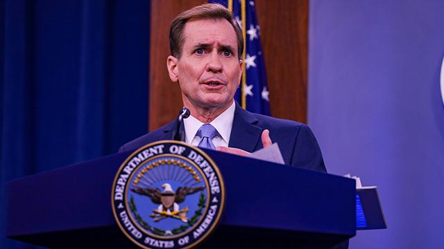 Джон Кирби пресс-секретарь Пентагона