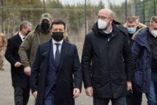 Зеленський сподівається на подальший тиск ЄС на РФ через ситуацію на Донбасі