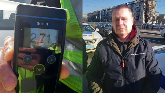 Рівень алкоголю в 13 разів вищий за норму: у Києві п'яний водій збив матір з дитиною