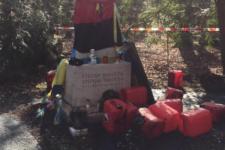 Вандали облили могилу Бандери у Мюнхені невідомою речовиною