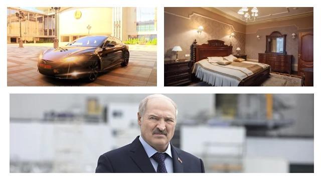 Замок, колекція авто та авіація: опозиція випустила фільм про статки Лукашенка