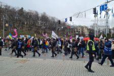 Пандемія має жіноче ім'я та 0% сексизму: у центрі Києва пройшов Марш Жінок