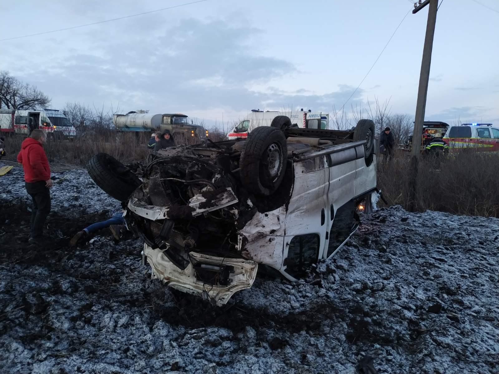 Смертельна ДТП в Харківській області з автобусом (ФОТО)
