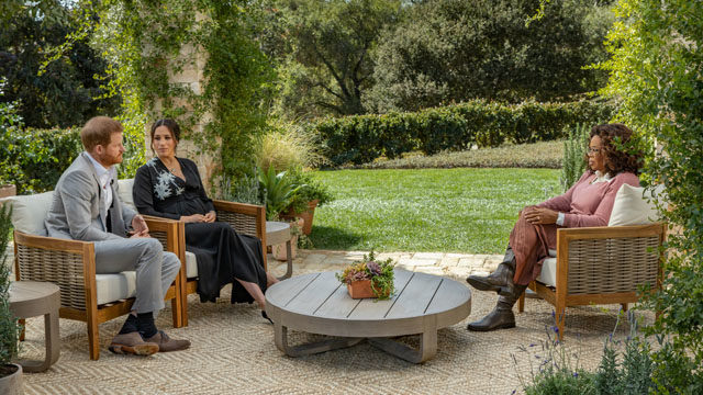 Меган Маркл і принц Гаррі інтерв'ю