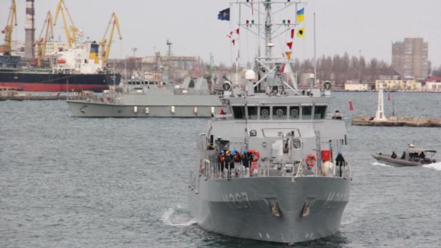 Кораблі НАТО в Одесі