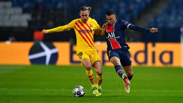 ПСЖ розписав нічию із Барселоною, але вийшов до 1/4 фіналу Ліги чемпіонів