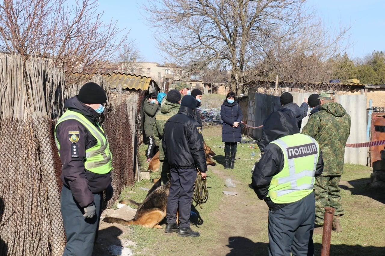 Вбивство Марії Борисової в Херсонській області: перші фото і відео