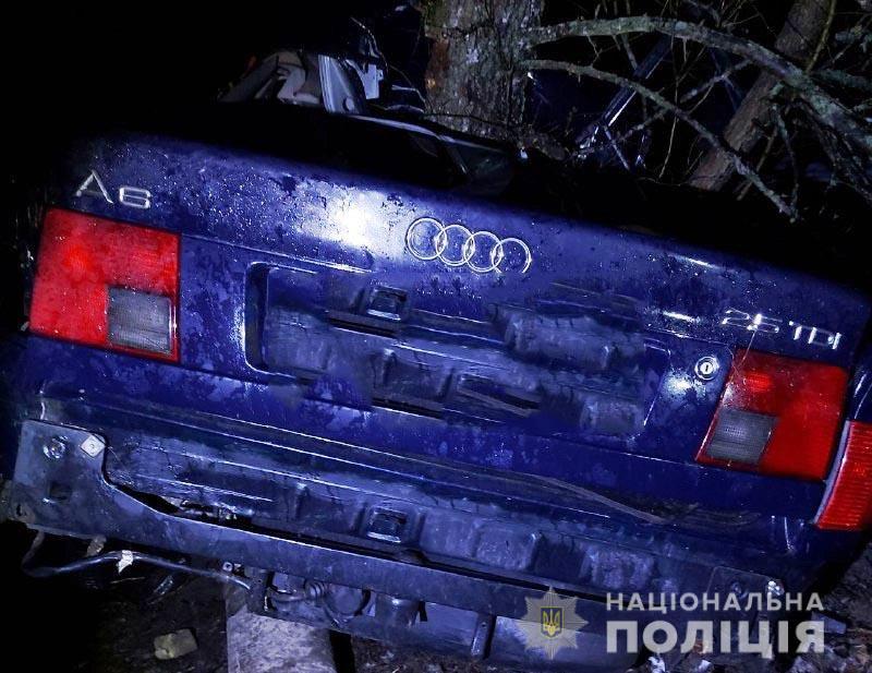 ДТП на Рівненщині зі школярами: загинув 16-річний водій (ФОТО)