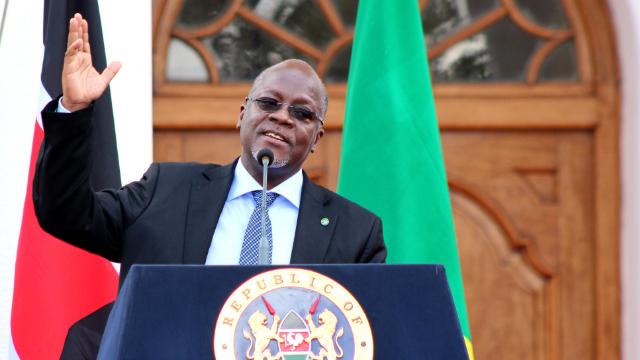 президент Танзанії Джон Магуфулі