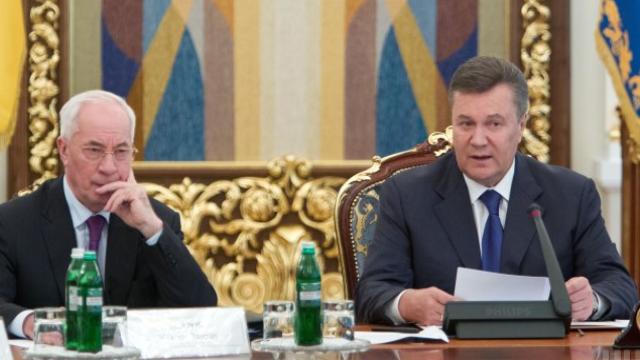 Янукович і Азаров