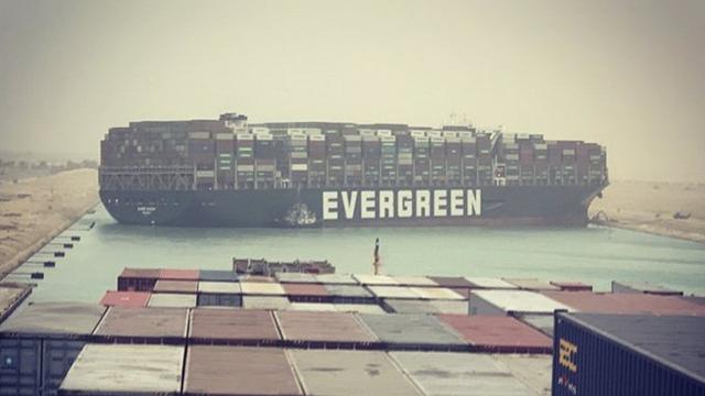Через блокування Суецького каналу зросла вартість морських вантажоперевезень