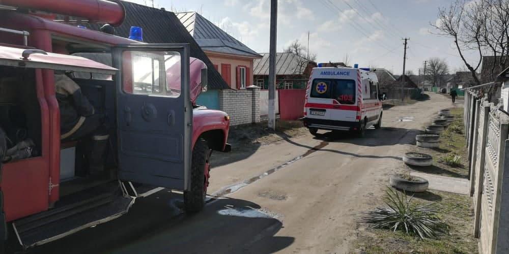 Пожежа у Черкаські області