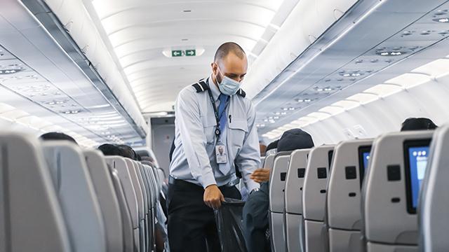 стюард в літаку
