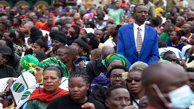 Танзанія - похорони президента