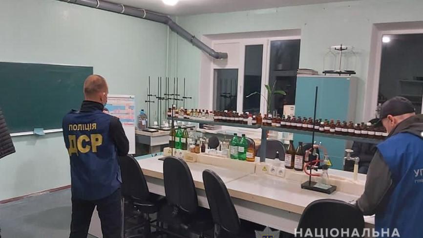 Щомісяця заробляли 1 млн грн: в Запорізькому медичному коледжі викрили нарколабораторію