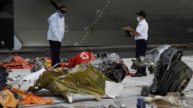 Авиакатастрофа самолета Sriwijaya Air